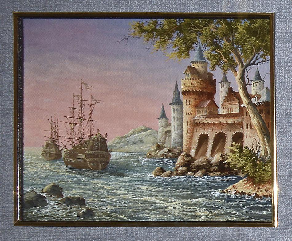 Замок и Корабли